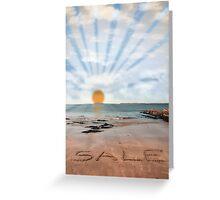 sunny sale Greeting Card