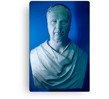 The Blue Statue ! Canvas Print