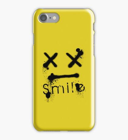 S M I L E iPhone Case/Skin