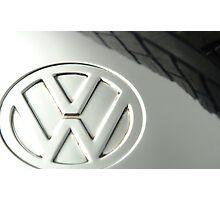 VW Beetle Hubcap Photographic Print