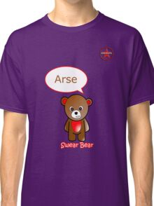 GeekGirl - Brown SwearBear Classic T-Shirt