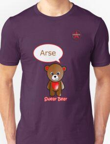 GeekGirl - Brown SwearBear Unisex T-Shirt