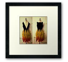 Girl on Fire 2 Framed Print