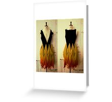 Girl on Fire 2 Greeting Card