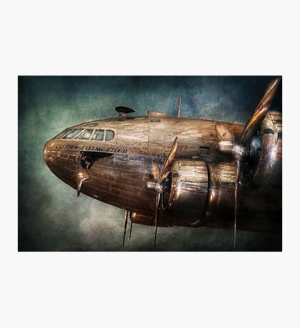Plane - Pilot - The flying cloud  Photographic Print