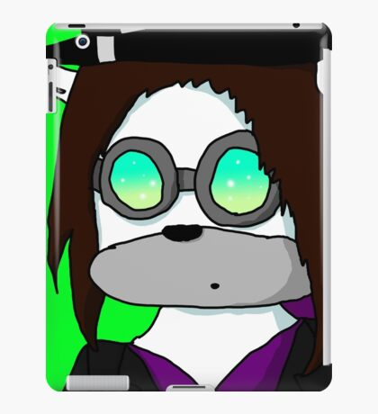 me in Pyrovision goggles iPad Case/Skin