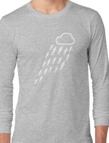It's raining gentlemen... Hallelujah! Long Sleeve T-Shirt