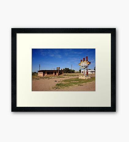 Route 66 Cafe Framed Print