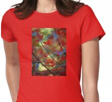 Autumn Extravagance Womens Fitted T-Shirt