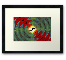 Amphibious Conceptions in Mathematical Divisions Framed Print
