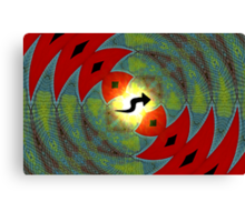 Amphibious Conceptions in Mathematical Divisions Canvas Print