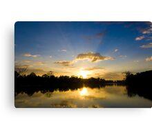 Sunset at Angkor Wat Canvas Print