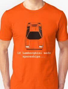 Lamborghini Countach Spaceship T-Shirt