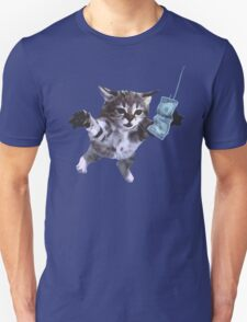 Funny grunge cat T-Shirt