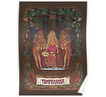 La Temperanza (Temperance, tarot card) Poster