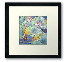 Lotus Glamour Framed Print
