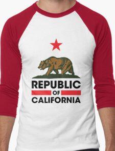 Republic of California Men's Baseball ¾ T-Shirt