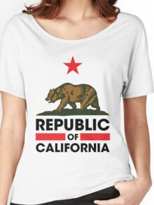Republic of California Women's Relaxed Fit T-Shirt