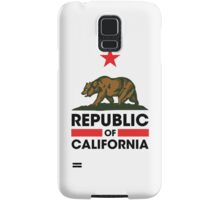 Republic of California Samsung Galaxy Case/Skin