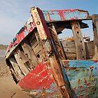 Braunton Burroughs Shipwreck by Ian Ware