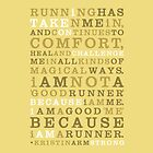 Strong Runner • Golden by Megan  Romo