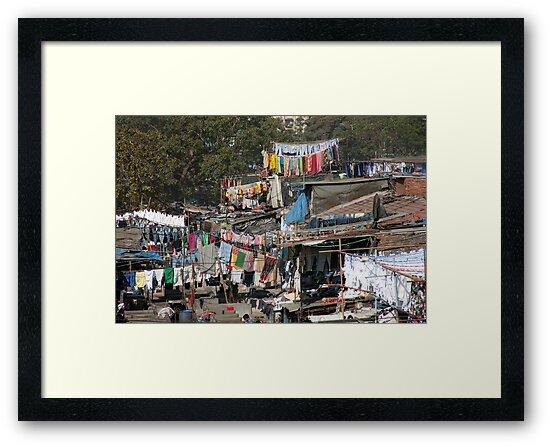 Slum Laundry by phil decocco