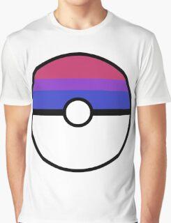 "Pokeball ""Bisexual Ball"" LGBTQ Shirt/etc Graphic T-Shirt"