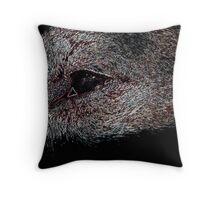 Electric Eye Throw Pillow