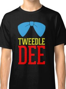 FUnny Tweedle Dee - Tweedle Dum for couples Classic T-Shirt