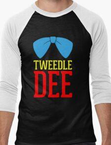 FUnny Tweedle Dee - Tweedle Dum for couples Men's Baseball ¾ T-Shirt