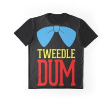 Tweedle dee and tweedle dum. Graphic T-Shirt