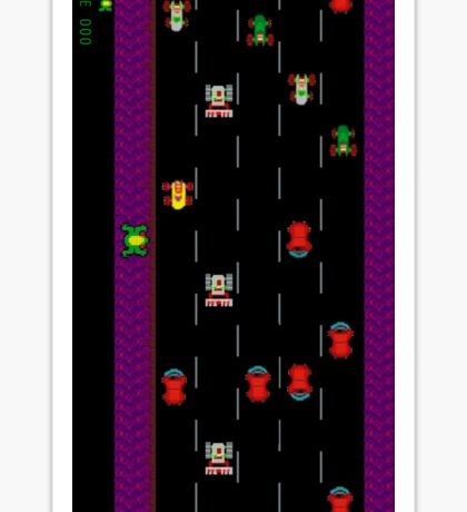 Frogger Sticker