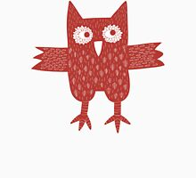 Red Owl Womens Fitted T-Shirt