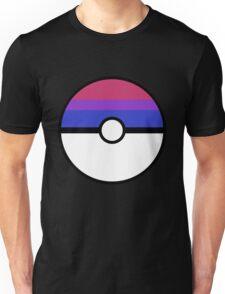 "Pokeball ""Bisexual Ball"" LGBTQ Shirt/etc Unisex T-Shirt"