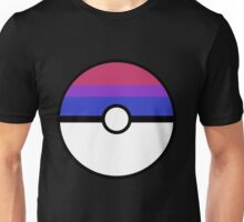 "Pokeball ""Bisexual Ball"" LGBTQ Shirt/etc Unisex T-Shirt"