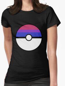 "Pokeball ""Bisexual Ball"" LGBTQ Shirt/etc Womens Fitted T-Shirt"