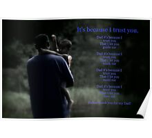 Our Father in Thee I Trust Poster