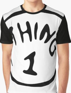 Thing 1 and thing 2 Couple Graphic T-Shirt