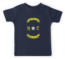 Vintage North Carolina  Kids Tee
