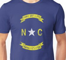 Vintage North Carolina  Unisex T-Shirt