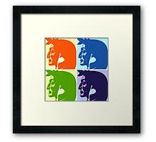 Warhol Dante Framed Print