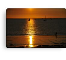 Sunset Fannie Bay - Darwin Australia Canvas Print