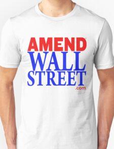 Amend Wall Street Unisex T-Shirt