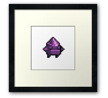 Nuclear Throne Crystal Framed Print