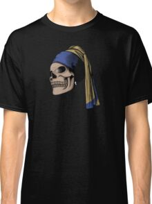 The Skull with a Pearl Earring Classic T-Shirt