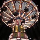County Fair Night Flight by Rogere0829