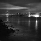 Golden Gate Bridge at Dusk by Rodney Johnson