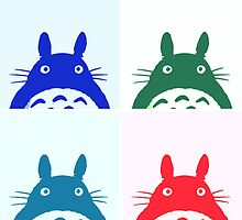 Warhol Totoro by Ednathum