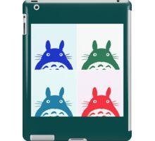 Warhol Totoro iPad Case/Skin