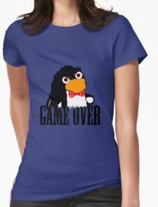Mr.Flibbles Game Over Womens Fitted T-Shirt